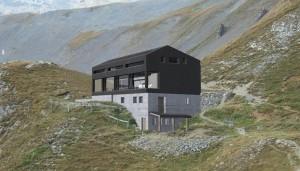 Construction d'une nouvelle cabane au Fénestral